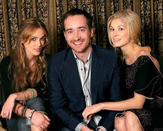 Keira, Matthew and Rosamund