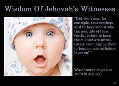 Wisdom of jehovah's witnesses