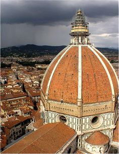 The Duomo, Florence, Italy - I climbed to the top of this!