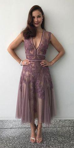 Ashley Judd in J.Mendel attends the 2017 Summer Television Critics Association Press Tour. #bestdressed