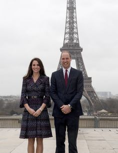 """Catherine, Duchess of Cambridge and Prince William, Duke of Cambridge visit  a """"Les Voisins in Action"""" event highlighting the strong ties between the young people of France and the UK during an official two-day visit to Paris on March 18, 2017 in Paris, France."""