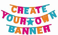 Items similar to Colorful DIY Customizable Banner For All Occasions on Etsy Eid Banner, Party List, Create Your Own, Create Yourself, Eid Party, Theme Color, Ramadan, Diwali, Party Themes