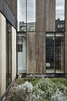 This exclusive Exterior Facade Designs will make your home look staggering and fascinating. Modern Architecture House, Facade Architecture, Residential Architecture, Facade Design, Exterior Design, Loft Design, House Design, House Cladding, Wooden Facade