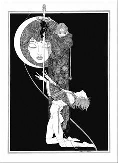 john austen ︎Artist, Illustration, Graphic Design, Art Nouveau ︎ Ventral Is Golden John Archibald Austen - was an english illustrator. Art And Illustration, Ink Illustrations, Art Inspo, Kunst Inspo, Fantasy Kunst, Fantasy Art, Alphonse Mucha, Art Nouveau, Harry Clarke