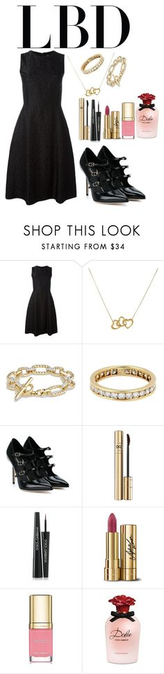 """""""#dolceandGabbana #black"""" by beso88 ❤ liked on Polyvore featuring Dolce&Gabbana, Tiffany & Co. and David Yurman"""