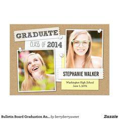 Bulletin Board Graduation Announcement