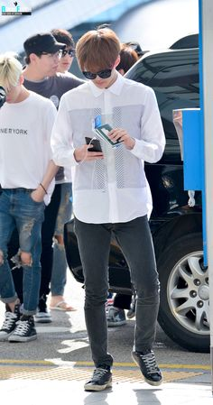 Sehun | 140802 Incheon Airport