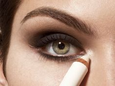 Makeup artist Matin Maulawizada shares his step-by-step directions for all-out evening eye makeup