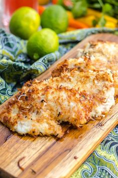 Coconut Fried Fish- snapper fillets lightly coated in a coconut crust ...