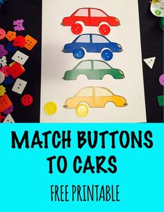 Match Color Cars! SE4.1: Demonstrate relationship skills APL3.1:Demonstrate development of sustained attention & persistence