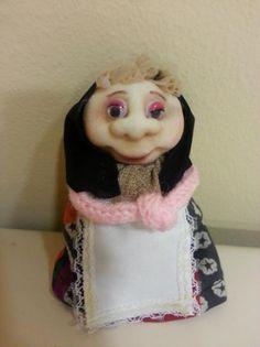 Muñeca soft Meli abuelita ambientador de bbcreativeshop
