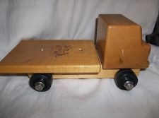 Vintage Wooden Flatbed Truck By Community , Rifton, N.y