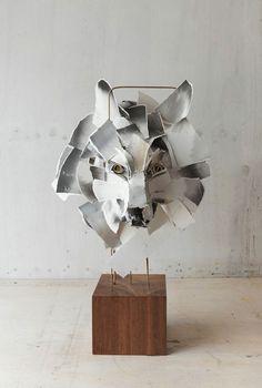 Lustik - Paper Sculptures by Anna Wili Highfield. Lustik:...