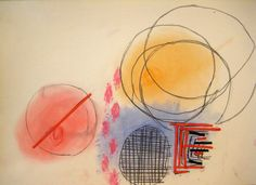 Abstract geometrical art - lesson for 7-10 year old kids. Discussing and analyzing examples of geometrical art. Using many helping materials for making circles, squares, lines, etc. Soft pastels, pencils, paper cut lines provided enough inspiration and help for the creation of this lovely images.