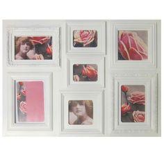 Cream 7 Aperture Photo Frame | Dunelm Mill £9.99