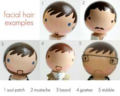 Facial hair for peg people (pix only) Wood Peg Dolls, Clothespin Dolls, Doll Crafts, Diy Doll, Craft Stick Crafts, Crafts For Kids, Clothes Pegs, Operation Christmas Child, Kokeshi Dolls
