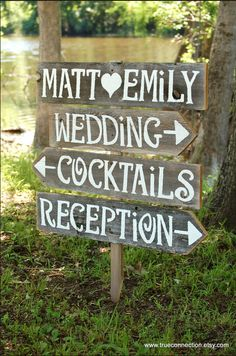mooie borden voor bruiloft