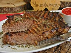 A Meat Recipe Like Turkish Delight: Baked Ribeye- How to make Ribeye in the oven? We explained the Baked Ribeye recipe with PICTURE step by step. We are sure that you have made our Baked Ribeye recipe Rib Eye Recipes, Meat Recipes, Dinner Recipes, Cooking Recipes, Turkish Delight, Wie Macht Man, Food Articles, Barbacoa, Turkish Recipes