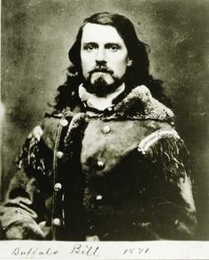 ...Buffalo Bill -- a.k.a. Wild Bill Cody, 1871...