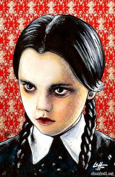Wednesday Addams The Addams Family by chuckhodi