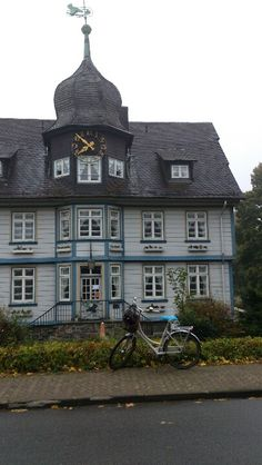 The old Townhouse, Hahnenklee, Harz ... Tags: #Batavus, #Diva, #Bicycle, #Bike, #small #adventure, #Hahnenklee, #Harz