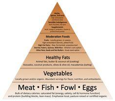 #MarkSisson Primal Food Pyramid! @mark_sisson #fitforduty