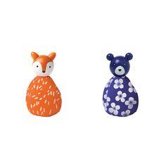 MIO Animal Set Fox + Bear| Manhattan Toy