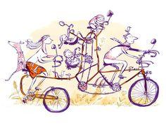 Adam Larkum Illustration Portfolio