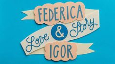 Federica + Igor | Love Story in Paper Cut Stop-Motion