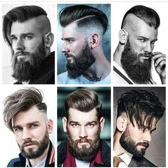 A beard now becomes the style statement for every man. Here are some of the trending beard styles for men that you will love experimenting. Buzz Cut With Beard, Short Hair With Beard, Mens Hairstyles With Beard, Boy Hairstyles, Haircuts For Men, Men's Haircuts, Chin Beard, Beard Fade, Sexy Beard