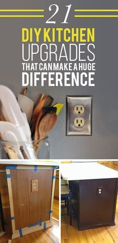 21 Kitchen Upgrades That You Can Actually Do Yourself                                                                                                                                                     More
