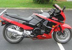 I really miss my bike... 90 ZX750R