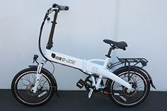 2017 e-Joe Epik SE Sport Edition Electric Bicycle Electric Folding Bike   FREE GIFT 16000mAh Solar Dual USB Phone Charger Power Bank (Frosty White) -- Be sure to check out this awesome product.