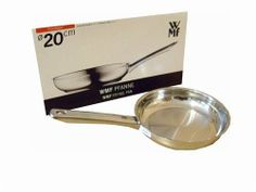 """WMF Diadem Plus Frying Pan 8"""" 20cm 18/10 Cromargan Stainless Steel by WMF. $32.89. Stsinless Steel 18/10. 18/10 Cromargan stainless steel construction. Innovative world-wide patent pending cool and handle design"""
