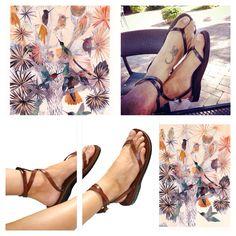 #SANDALI - Getting into gear !! Brown Ankle-Strap Leather Sandals http://www.sandali-sandals.com/  #sandali #sandals #sandalisandals #sea #sun #surf #swag #smile #summer #handmade #happy #israel