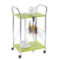 Carrito camarera Sunny : puedes utilizarlo tanto para servir la comida como mesa auxiliar en la cocina.