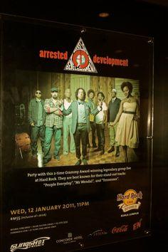 2011 AD Kuala Lumpur  Hard Rock Cafe Tour #ArrestedDevelopment #ADtheBand