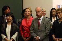 시테 한국관 건립을 위하여 OECD한국대표부 전시실에서 열린 재불작가 전시회 [한위클리, 2011-10-19]