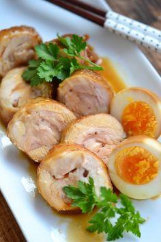 鶏もも肉のチャーシュー【作りおき】  by 鈴木美鈴 / 保存も効くしっとり鶏チャーシュー。タレは炊き込みごはん、チャーハン、お肉の照り焼き、味玉に、、うまみたっぷりです。  / Nadia