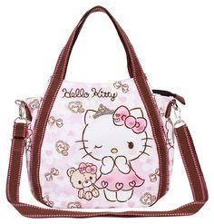 Hello Kitty 2way Mini Shoulder Bag Lunch Tote Bag Sanrio Free Shipping new 6…