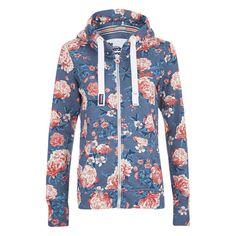 Superdry Women's Orange Label All Over Print Primary Zip Hoody -... (610 SEK) ❤ liked on Polyvore featuring tops, hoodies, multi, orange hoodie, zipper hoodie, sweatshirt hoodies, blue hooded sweatshirt and zip up hoodie