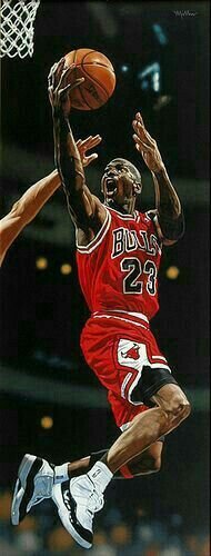 Michael Jordan, Basketball.