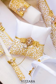 Ring bearers pillows White and gold wedding Ring bearer pillow ideas Gold and white wedding Ring bearer Gold and white wedding theme Ring Bearer Pillows, Ring Pillows, Gold Wedding Rings, Wedding White, Pillow Crafts, Lace Ring, Ring Pillow Wedding, Wedding Glasses, White Pillows