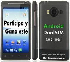 Consigue un Smartphone Android DualSIM Gratis