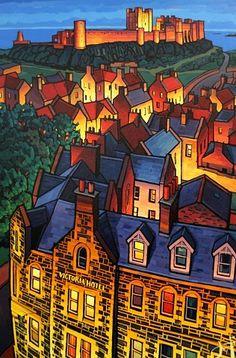 Jim Edwards, Bamburgh at Night