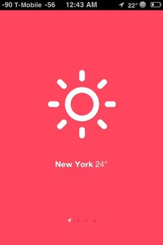 Sun - a simple, gestural based weather web app. Impressed with the two finger pinch and zoom that works in mobile browsers like iOS Safari.  Follows the gestural, manipulate content directly, trend (like the iOS to-do list appClear).