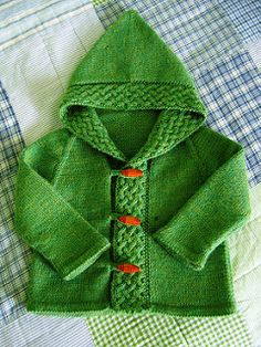 A cardigan for Merry - front | by Anny Purls