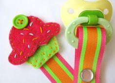 adorable pacifier clip