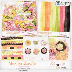 Marzipan Obsession Collection by Lara's Digi World