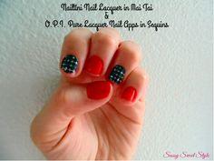 July 26th - nailtini-mai-tai-opi-nail-apps-sequins